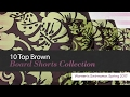 10 Top Brown Board Shorts Collection Women's Swimwear, Spring 2017