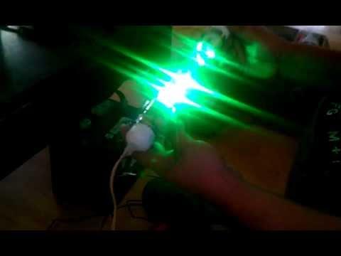 Homemade fishing lights youtube for Homemade fishing light