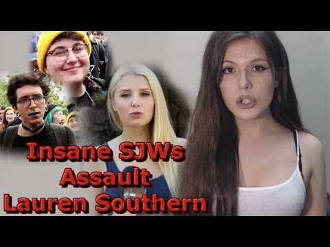 Thumbnail: Insane SJWs Assault Lauren Southern