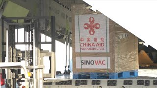 GLOBALink | China-donated COVID-19 vaccines arrive in Philippines