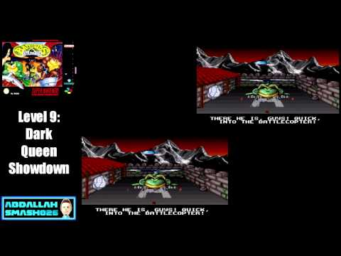 Let's Play Battletoads In Battlemaniacs: FINAL Level 9 - Dark Queen Showdown With 2 Endings
