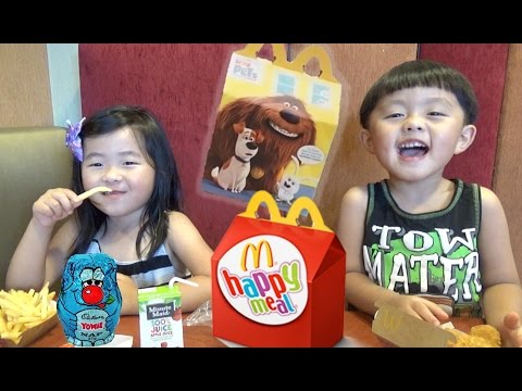 Thumbnail: McDonald's Happy Meal Surprise Toys, Secret Life of Pets, YOWIE, SHOPKINS, and Animal Jam Blind Box