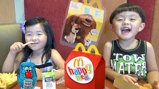 McDonald's Happy Meal with Secret Life of Pets