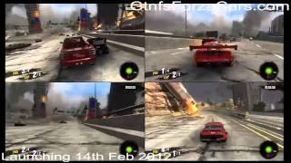 Motorstorm Apocalypse 4 player split-screen gameplay offline PS3