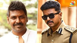 Raghava Lawrence thanks his Nanban Vijay from his heart