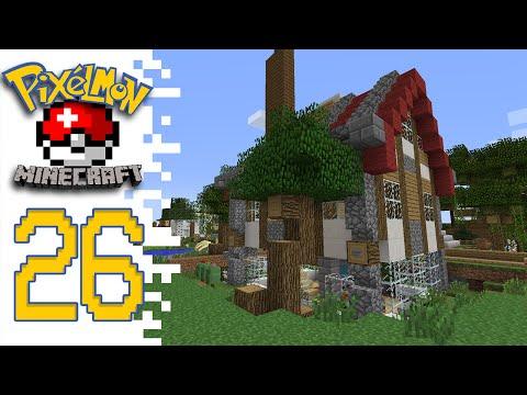 Minecraft Pixelmon (Public Server) - EP26 - Home Sweet Home?!