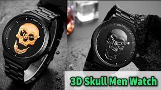 3D Skull Mens Watch Review On AliExpress/AliAddict