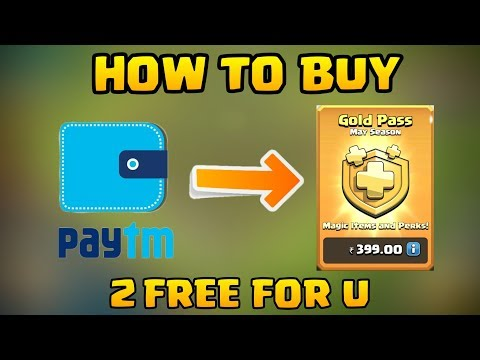How To Purchase Gold Pass Through Paytm In Clash Of Clans