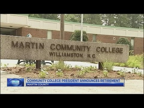 Martin Community College president announces retirement