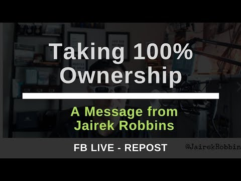 FB Live Repost: Taking 100% Ownership