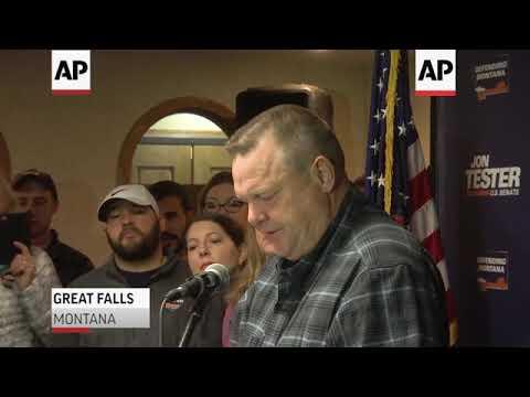 Montana Democratic Senator survives Trump attacks