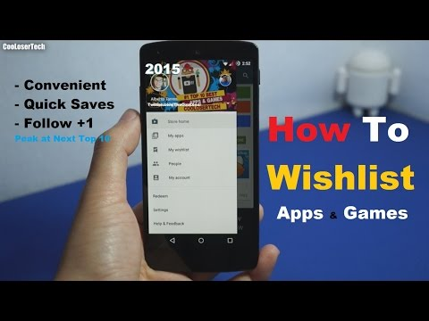 How to Wishlist Apps & Games - Tips