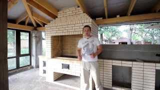 Беседки для барбекю из кирпича: готовая барбекюшница, видео-инструкция по монтажу своими руками, фото и цена