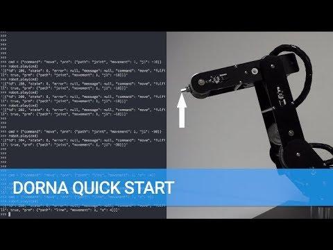 Dorna API Quick Start - Dorna Robotics