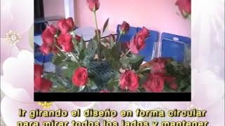 CENOCUP - 9. DISEÑO FLORAL DE BIENVENIDA