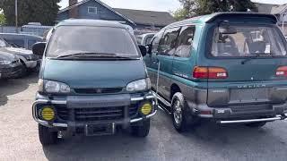 1994 Mitsubishi Delica 4x4 16,700km по русским продан
