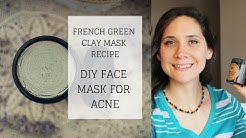 hqdefault - Green Clay Mask Recipe Acne