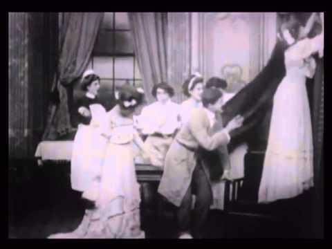 The Curtain Pole (1909, Mack Sennett, clip)