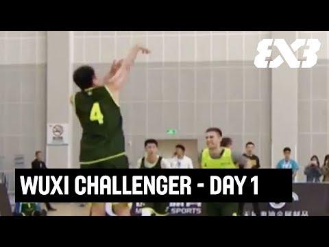 LIVE 🔴 - FIBA 3x3 Wuxi Challenger - Day 1 - Wuxi, China