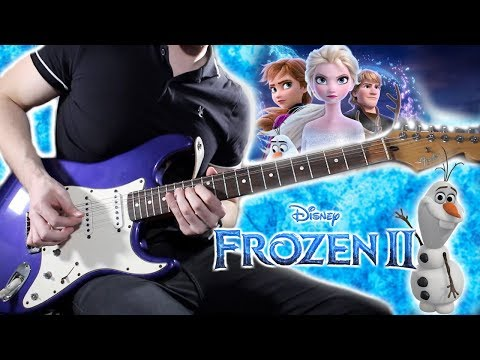 Into The Unknown - Disney's Frozen 2 Electric Guitar Cover!