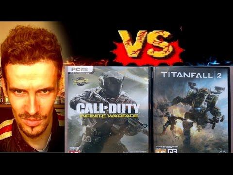 COD: INFINITE WARFARE VS TITANFALL 2 : Análisis /crítica /reseña