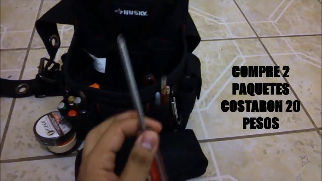 Porta herramientas - YouTube 794d50d1f540