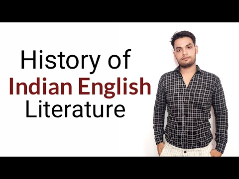 History Of Indian English Literature