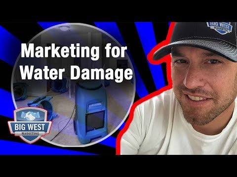 How To Do Marketing For Water Damage Restoration Success