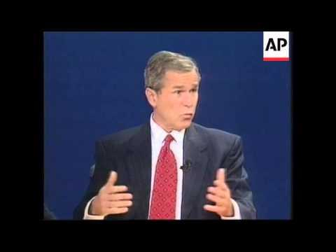 US Presidential Debate: AL GORE/GEORGE W BUSH (2) - 2000