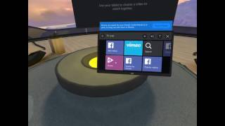 Ott in VR with Oculus rooms