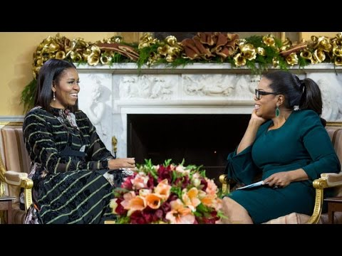 First Lady Michelle Obama on husband's...