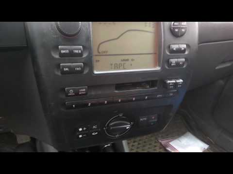 Seat cordoba 2000 radio problem
