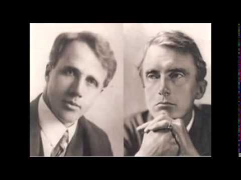 Elected Friends - Edward Thomas - Robert Frost - Radio Play