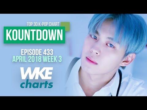 KOUNTDOWN 433 | APRIL 2018 WEEK 3 | TOP 30 K-POP CHART