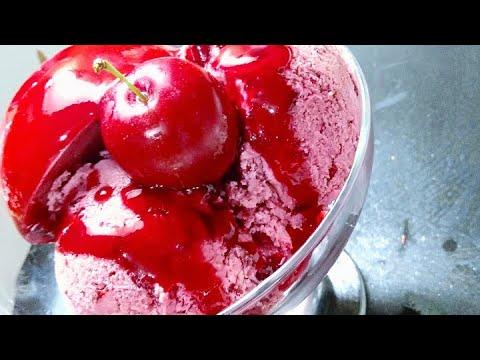 glace-fait-maison-avec-la-pruneمثلجات-او-ايس-كريم-صنع-منزلي-بالبرقوق-روعة