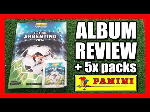ALBUM REVIEW + 5x PACKS | Figuritas PANINI FÚTBOL ARGENTINO 2016