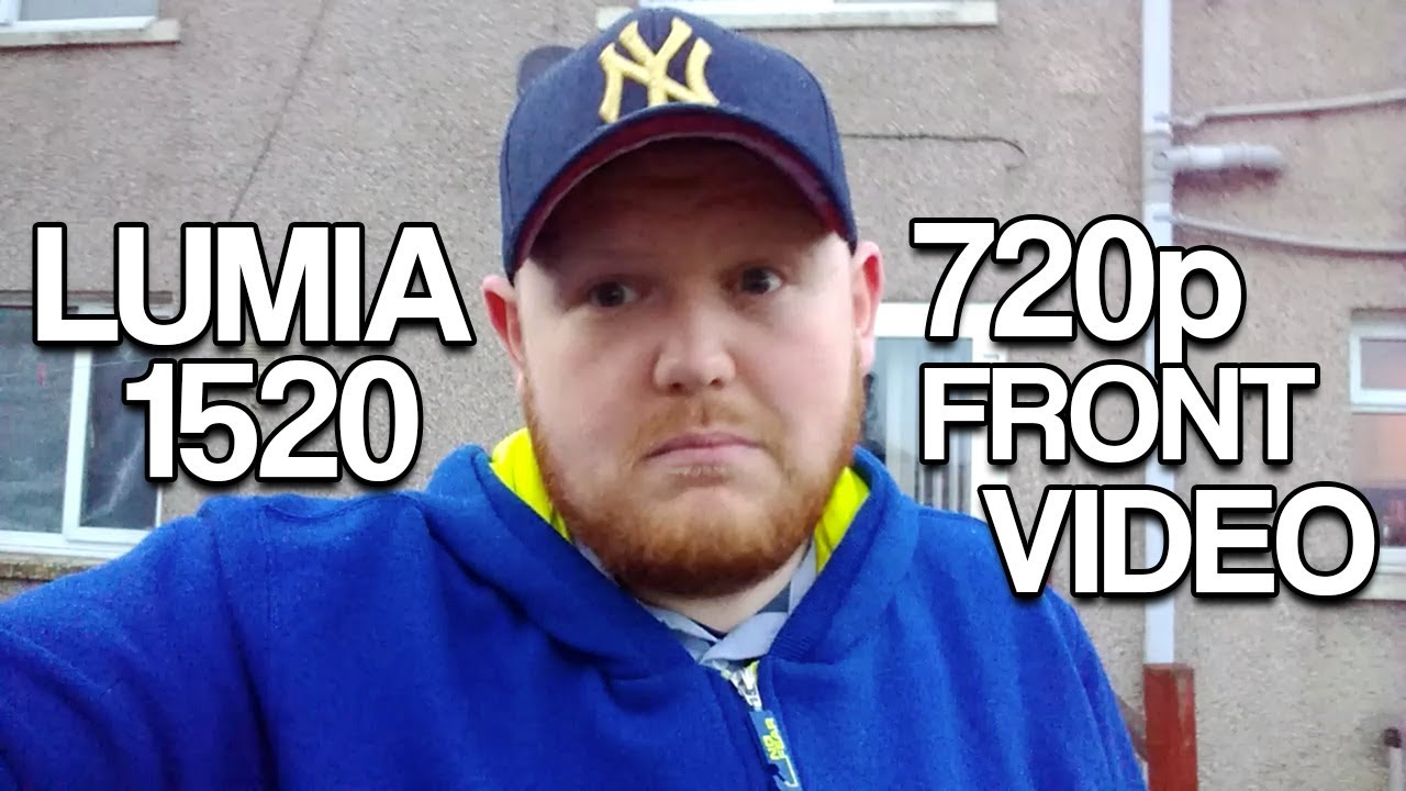 Nokia Lumia 1520 Front Camera 720p Video Test