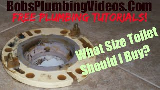 How To Measure a Toilet / What Size Toilet Should I Buy?