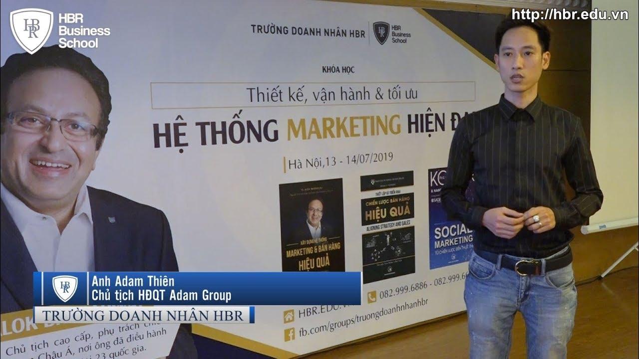 Cảm nhận học viên trường doanh nhân HBR – Chủ tịch HĐQT Adam Group chia sẻ về TS Alok