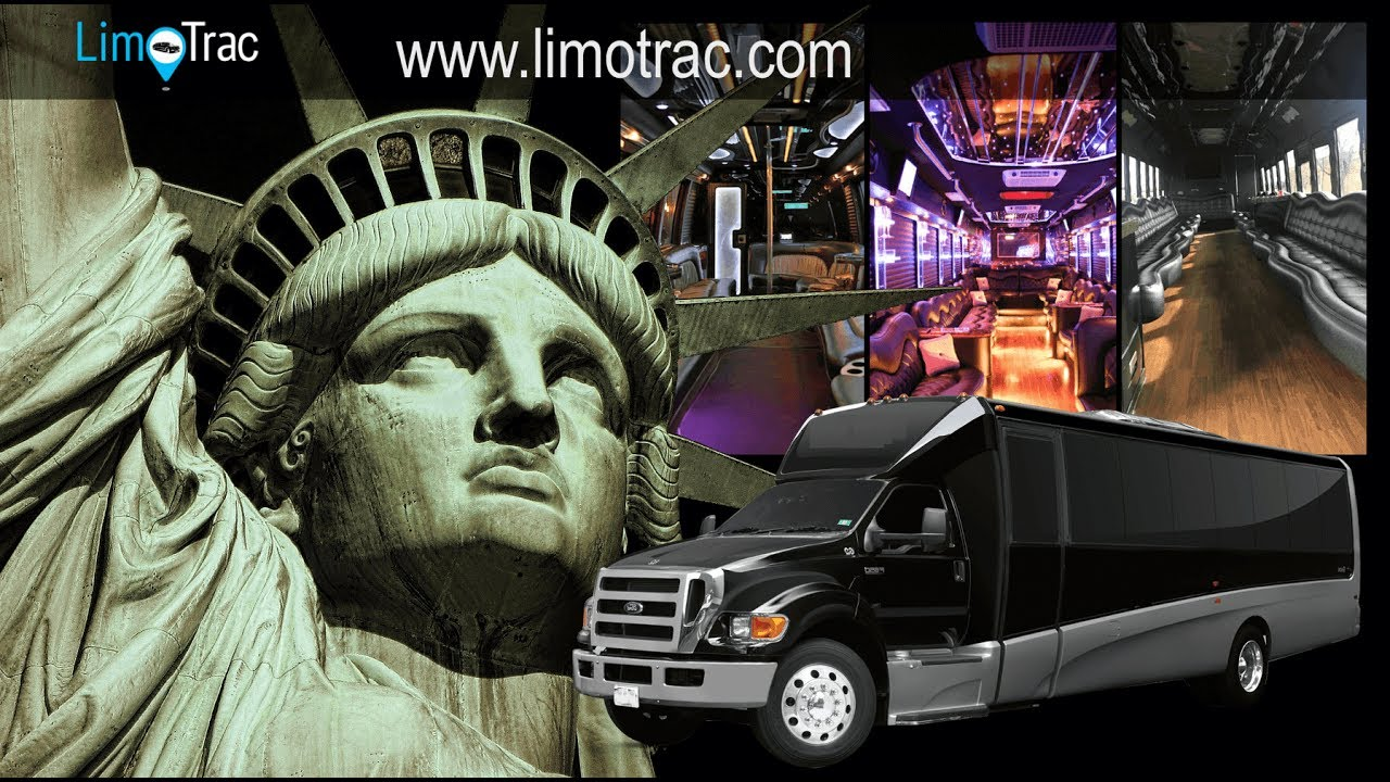 New York City Party Bus Rental With Bathroom