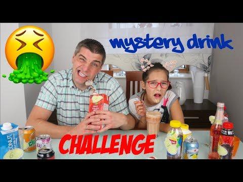 ♥ MYSTERY DRINK CHALLENGE | Pusheen Girl