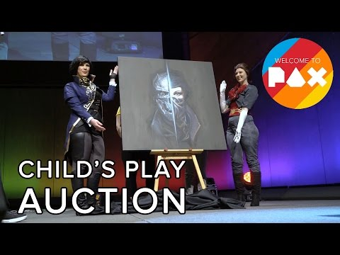 Child's Play Auction - Welcome to PAX! [Aus 2016]