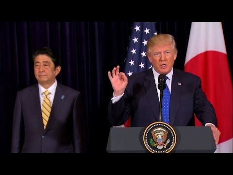 Trump: Washington '100%' behind Tokyo after N. Korea launch