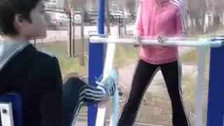 Урок физкультуры на тренажёрах Romana