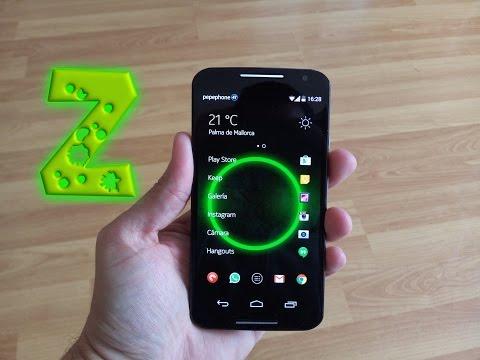 Z Launcher Beta el Launcher del Nokia N1