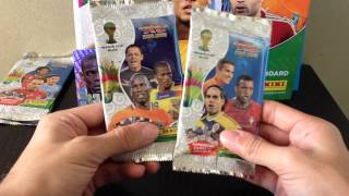 Opening and Reviewing Starter pack AXL world cup Panini IND PREMIERE