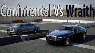 Forza Motorsport 6 - DRAG RACE: Bentley Continental GT Speed Vs Rolls Royce Wraith