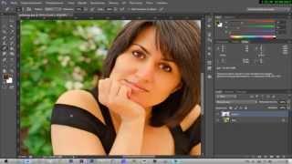 Photoshop CC как создать загар?