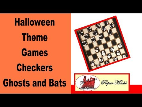 Ghosts and Bats Checkers