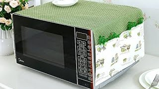 Super Cute Country-esk Microwave/Toaster Oven Cover with Pockets!